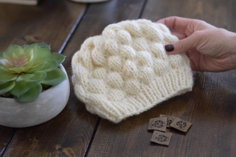 baby hat crochet yarn2tog