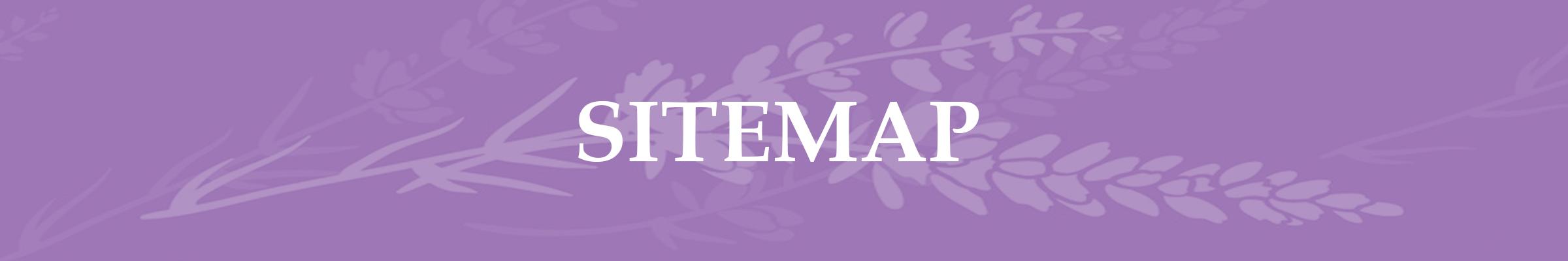 Lavender Page Header Sitemap