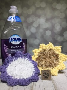 The Scrubbing Dishcloth crochet pattern