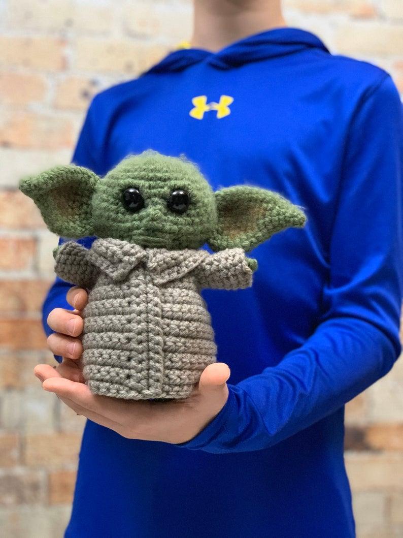 "7"" the child crochet pattern"