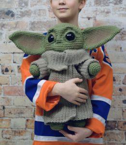 The Child 20 inch Doll crochet pattern