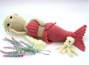 Melodi the Mermaid Crochet Pattern Photo